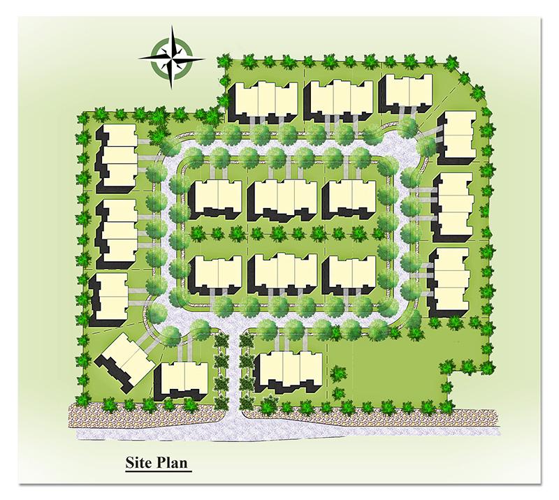 Site Plan Rendering – Site Plan Renderings